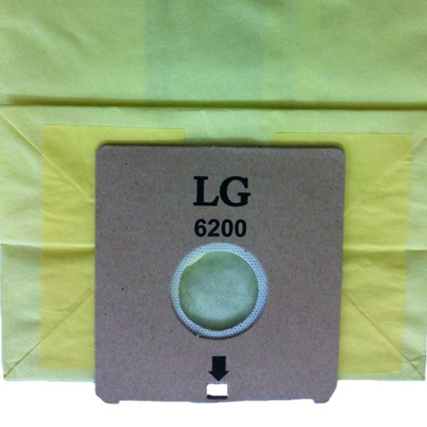 کیسه جاروبرقی مدل 6200 مناسب برای جاروبرقی ال جی  بسته 5 عددی