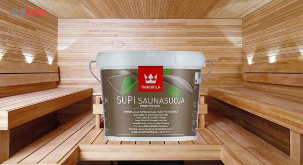 رنگ سونا پایه آب تیکوریلا مدل SUPI SAUNASUOJA حجم 3 لیتر