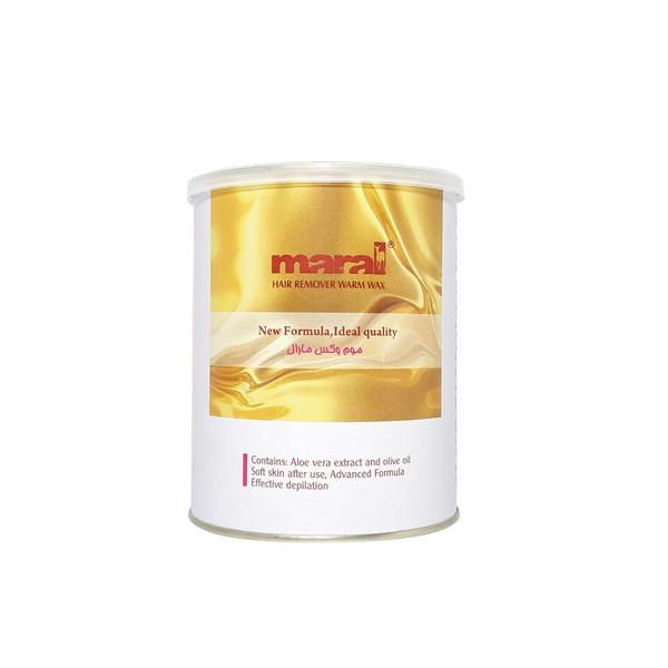 موم وکس مارال مدل عصاره طلا حجم 700 گرم