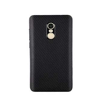 کاور محافظ ژله ای فیبر کربن مدل Slim مناسب برای گوشی شیاومی Redmi Note 4