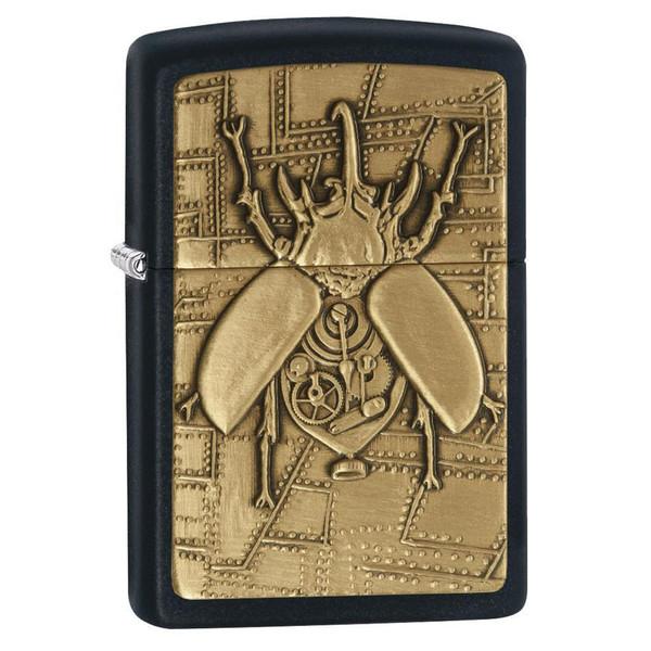 فندک زیپو مدل Steampunk Beetle