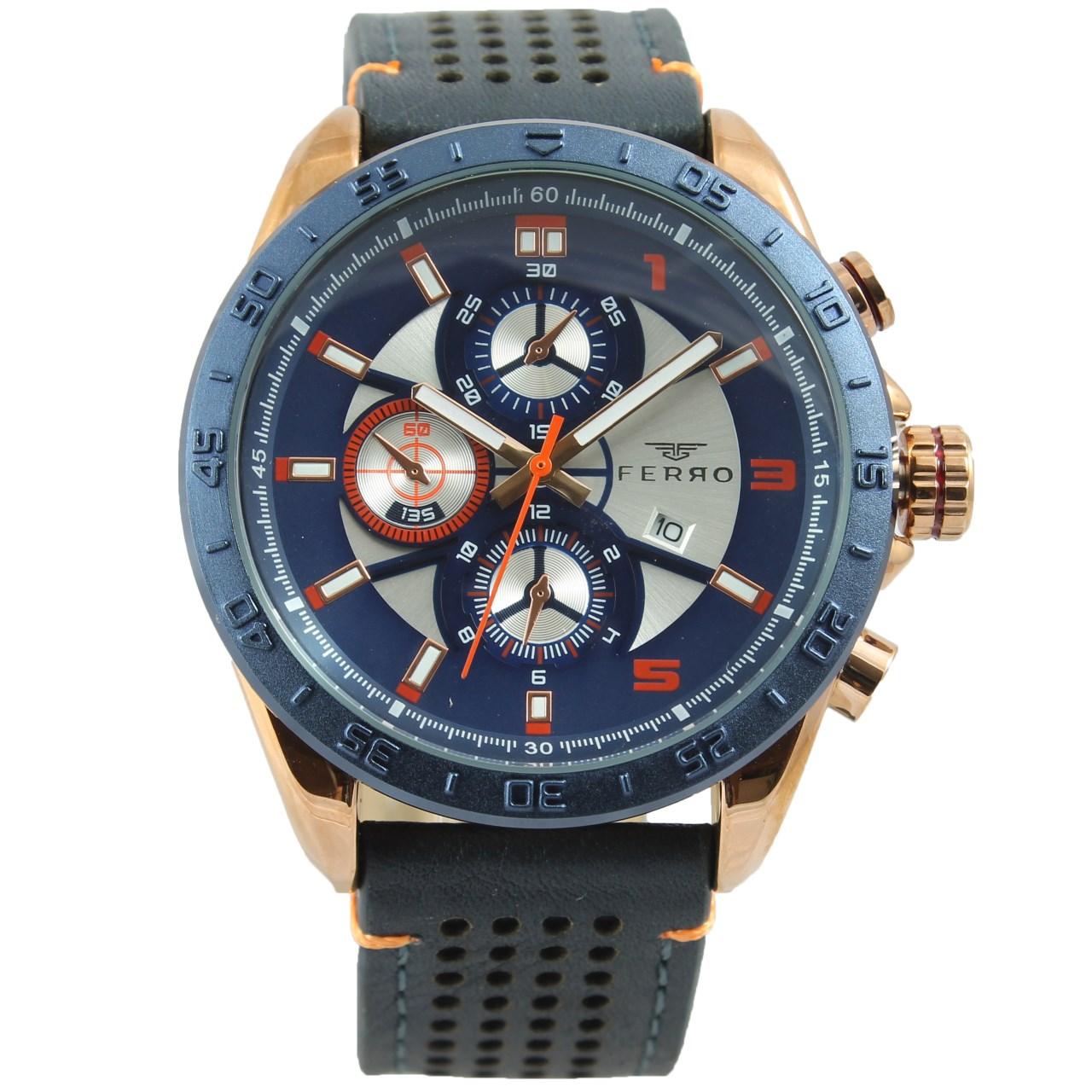ساعت مچی عقربه ای مردانه فرو مدل F61540-543-T