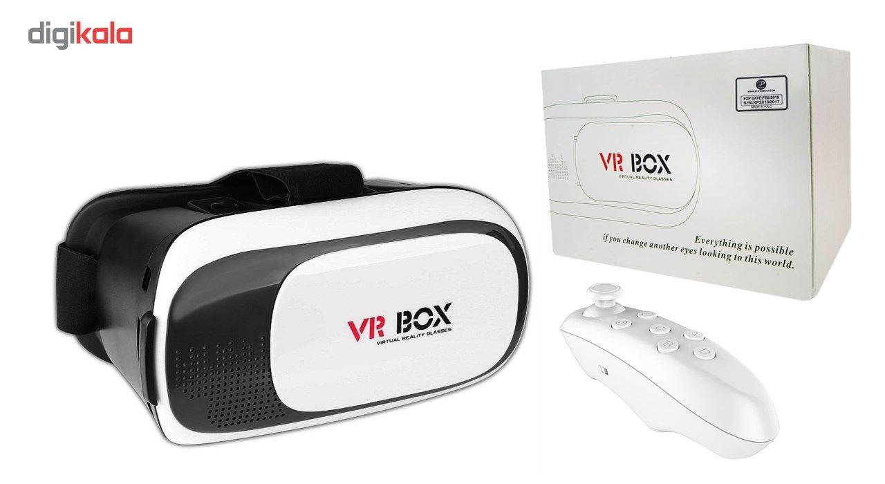 هدست واقعیت مجازی ایکس پی پروداکت مدل VR BOX به همراه ریموت کنترل main 1 1