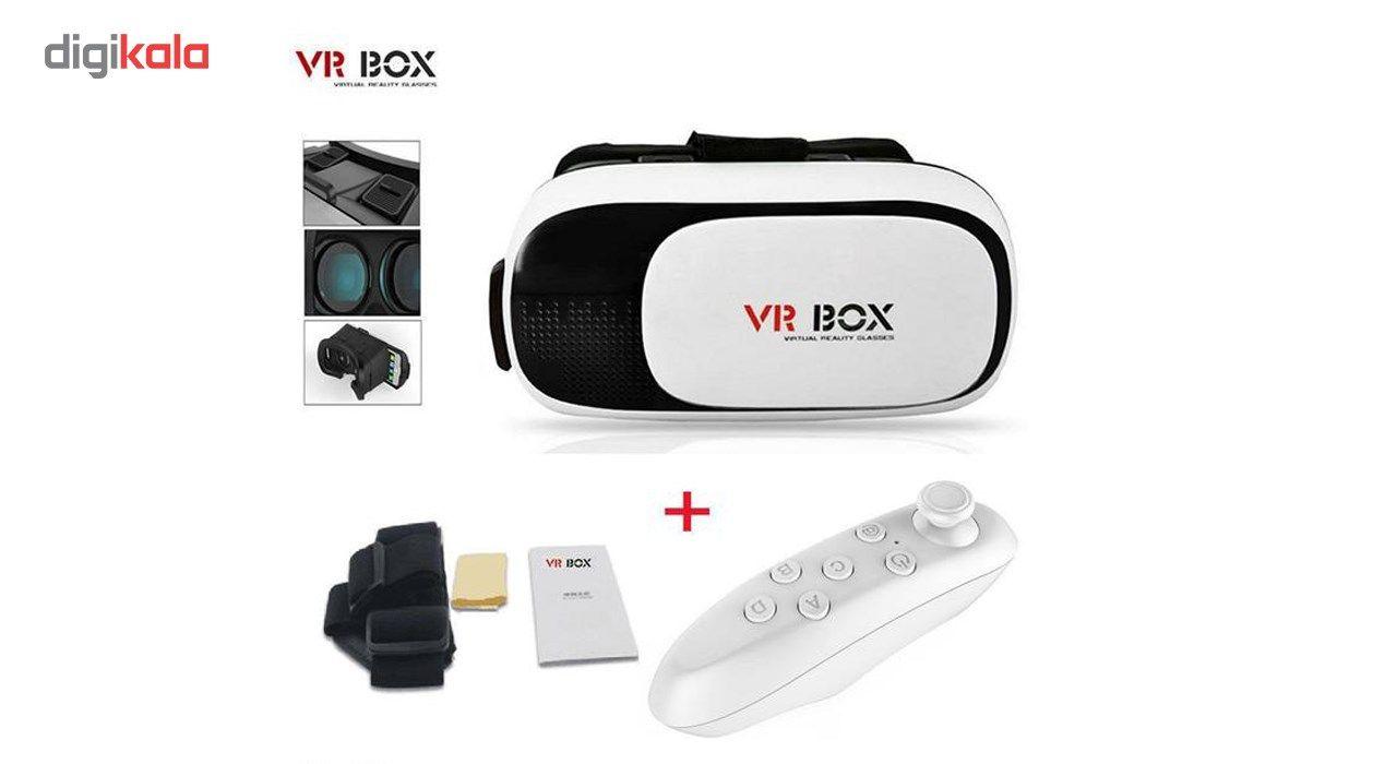 هدست واقعیت مجازی ایکس پی پروداکت مدل VR BOX به همراه ریموت کنترل main 1 2