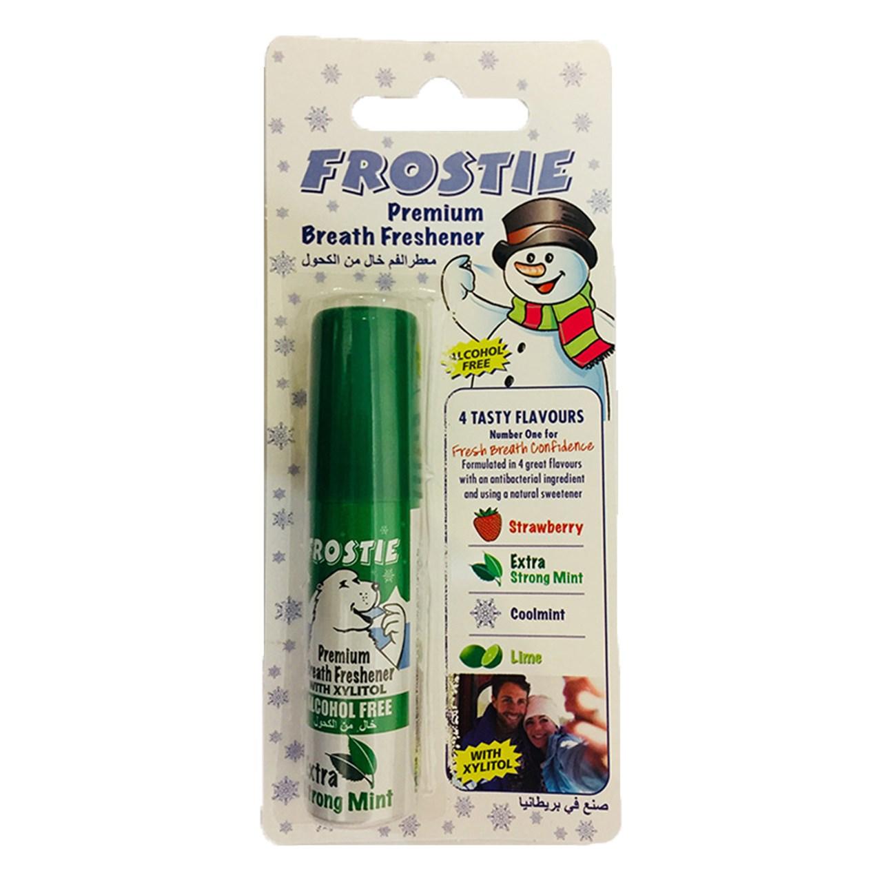 Photo of اسپری خوشبو کننده دهان فروستی مدل Extra Strong Mint حجم 20 میلی لیتر