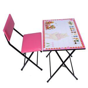 میز و صندلی  تحریر تاشو و تنظیم شو یاس طرح پو