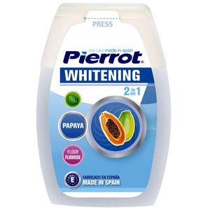 خمیردندان پیرروت مدل Whitening 2 in 1 حجم 75 میلی لیتر