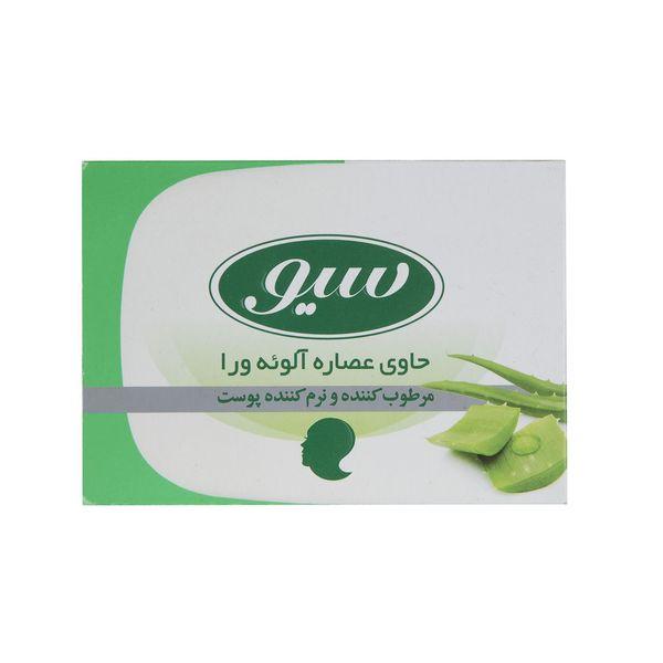 صابون حمام سیو مدل Aloe Vera Extract مقدار 125 گرم