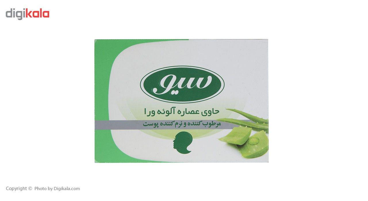 صابون حمام سیو مدل Aloe Vera Extract مقدار 125 گرم main 1 1