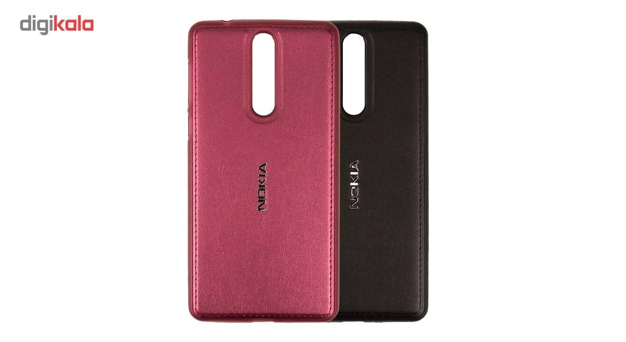 کاور ژله ای طرح چرم مناسب برای گوشی موبایل نوکیا 8 main 1 2