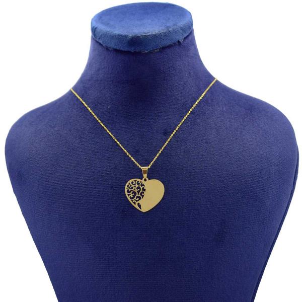 گردنبند طلا 18 عیار زنانه کانیار گالری مدل NE101