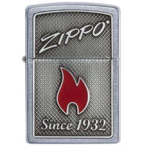 فندک زیپو مدل 29650  Zippo And Flame