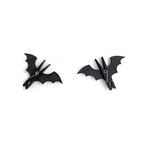 گیره لباس  طرح خفاش بسته 2 عددی