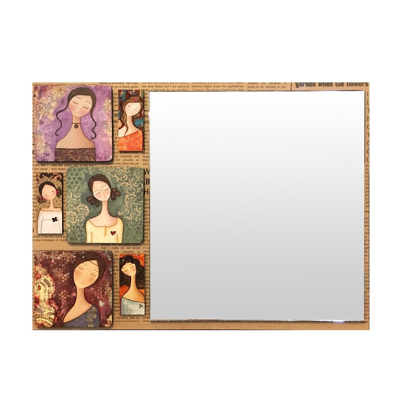 عکس قاب آینه گالری نفیس کد NA01