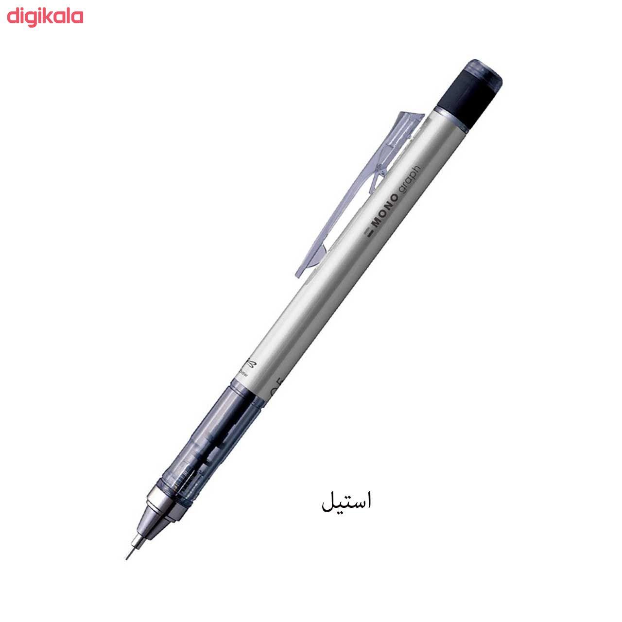 مداد نوکی 0.5 میلی متری تومبو مدل MONO GRAPPH main 1 2