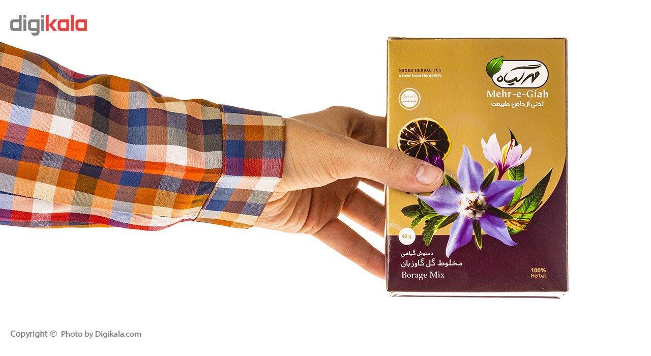 دمنوش گیاهی مخلوط گل گاوزبان مهرگیاه مقدار 40 گرم main 1 9
