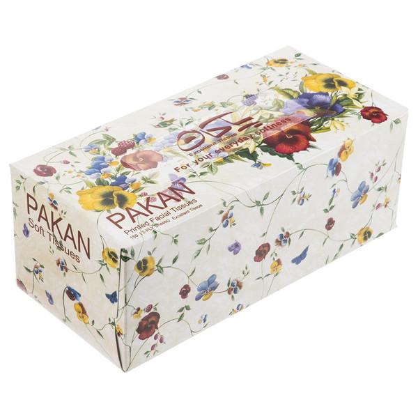 دستمال کاغذی 150 برگ پاکان مدل Pardis