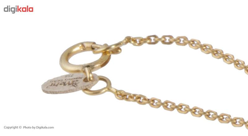 آویز ساعت طلا 18 عیار ماهک مدل MW0319 - مایا ماهک