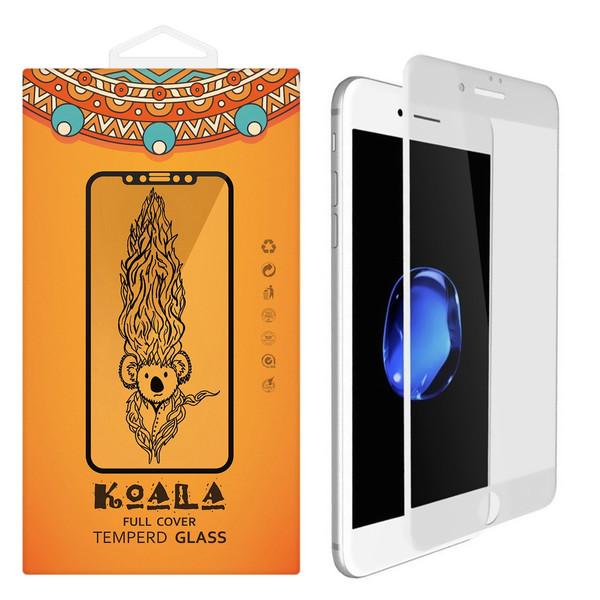 محافظ صفحه نمایش شیشه ای مات کوالا مدل Full Cover مناسب برای گوشی موبایل اپل آیفون 6/ 6S