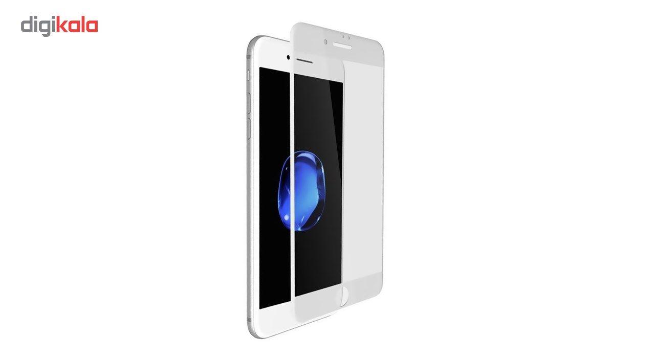 محافظ صفحه نمایش شیشه ای مات کوالا مدل Full Cover مناسب برای گوشی موبایل اپل آیفون 6/ 6S main 1 2