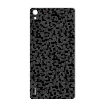 برچسب پوششی ماهوت مدل Silicon Texture مناسب برای گوشی  Huawei Ascend P7