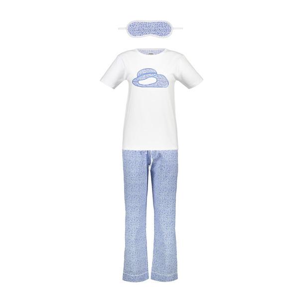ست تی شرت و شلوار  زنانه ناوالس  کدSET01BL