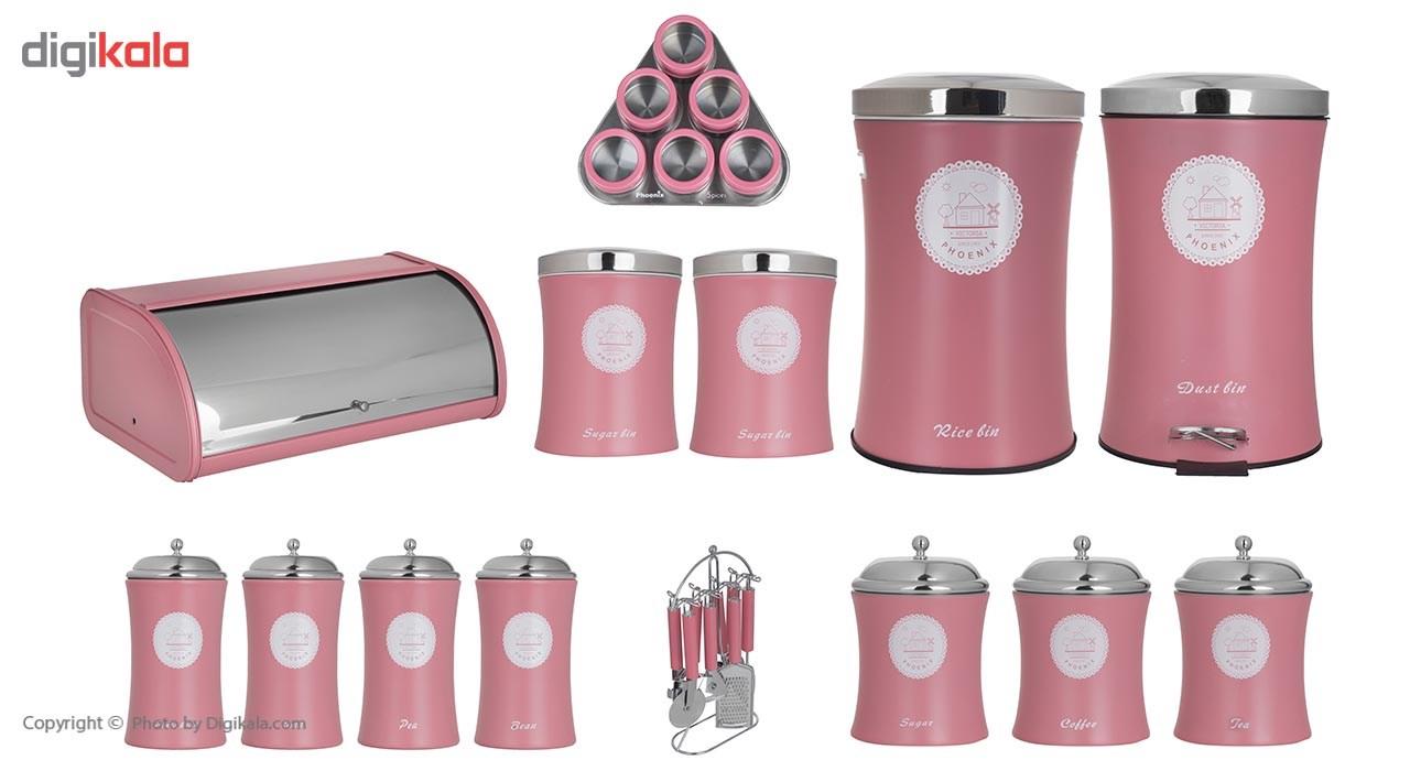 سرویس آشپزخانه 27 پارچه فونیکس مدل VICTORIA