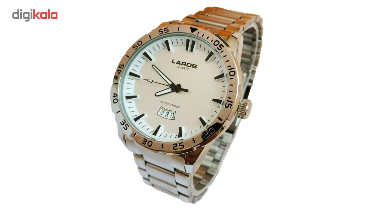 ساعت مچی عقربه ای مردانه لاروس مدل No 0817-79943-D