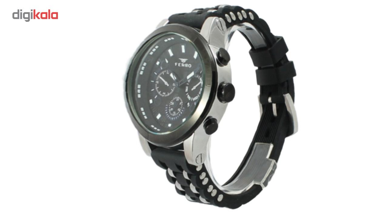 ساعت مچی عقربه ای مردانه فرو مدل F40015-012-G