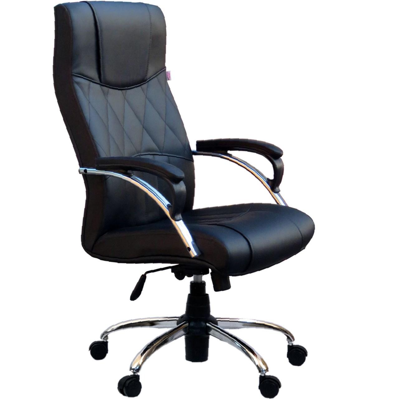 صندلی اداری آرکانو کد D550A چرمی