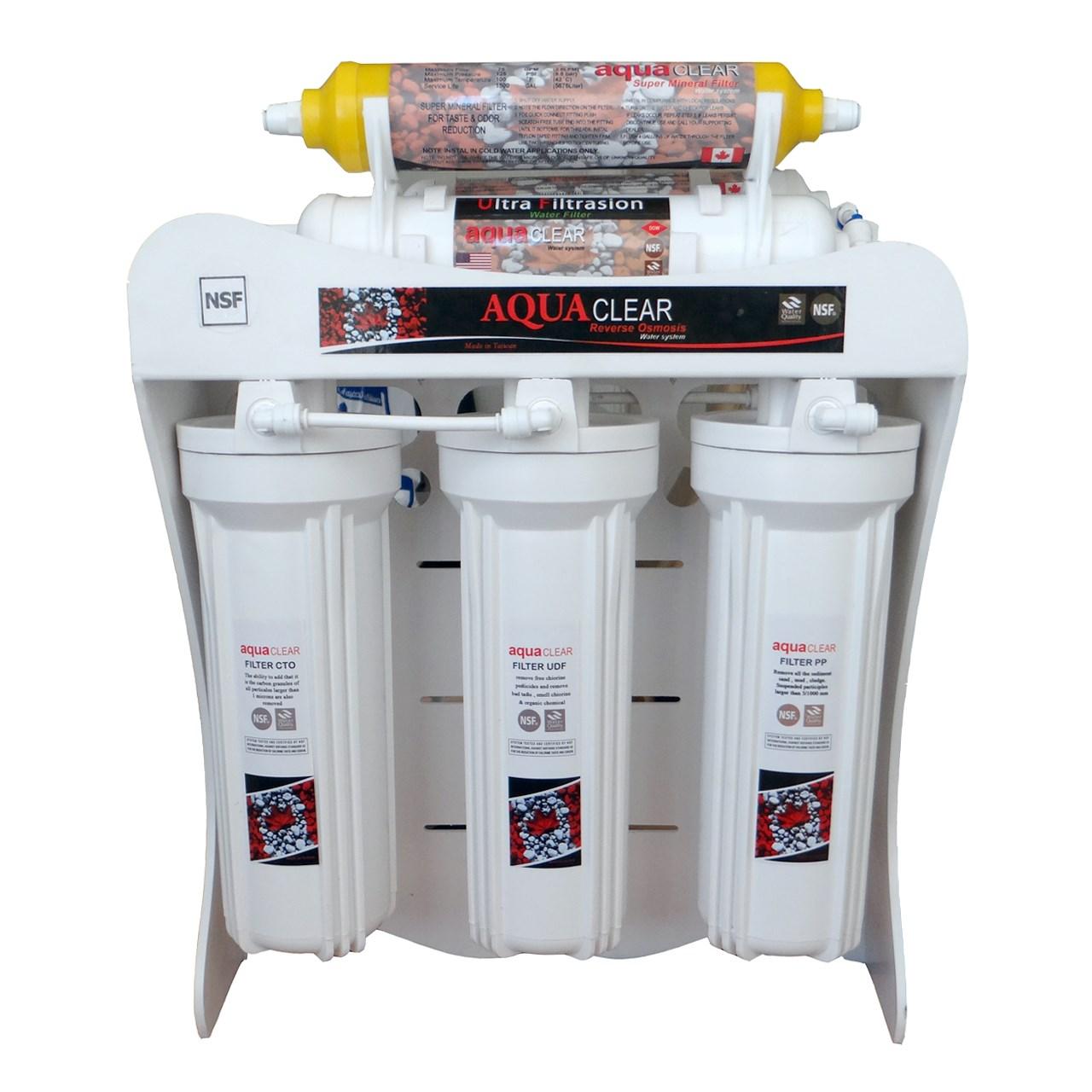 دستگاه تصفیه آب آکوآکلر  مدل بدون مخزن