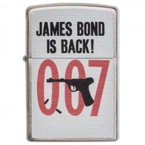 فندک زیپو مدل James Bond