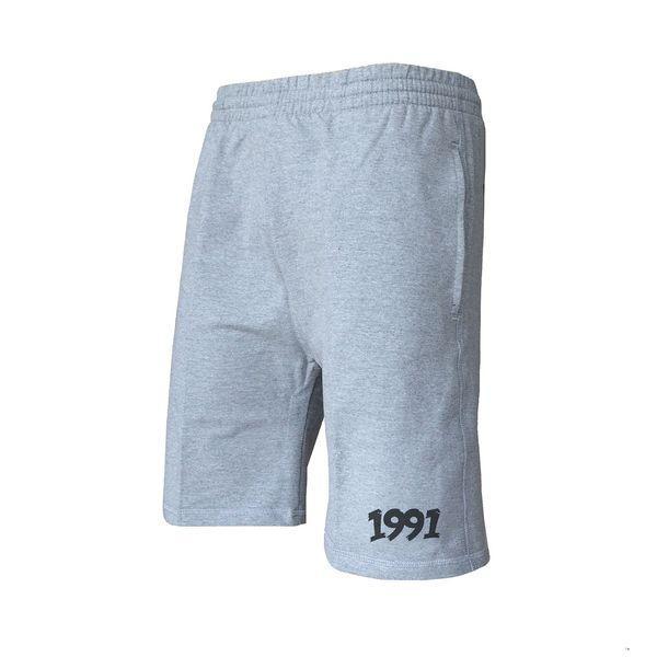 شلوارک ورزشی مردانه 1991 اس دبلیو مدل shorts Simplex Gray