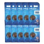باتری سکه ای رناتا مدل CR2025 بسته 10 عددی thumb