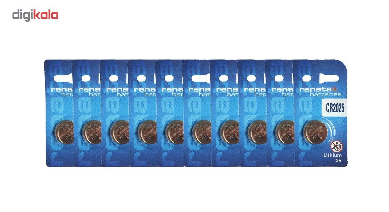 باتری سکه ای رناتا مدل CR2025 بسته 10 عددی main 1 1