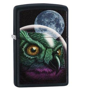 فندک زیپو مدل 29616 Space Owl Design