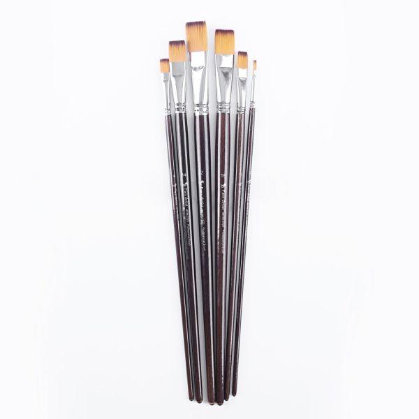 قلم مو پارس آرتیست کد 2020 تخت دسته بلند ست 6 عددی