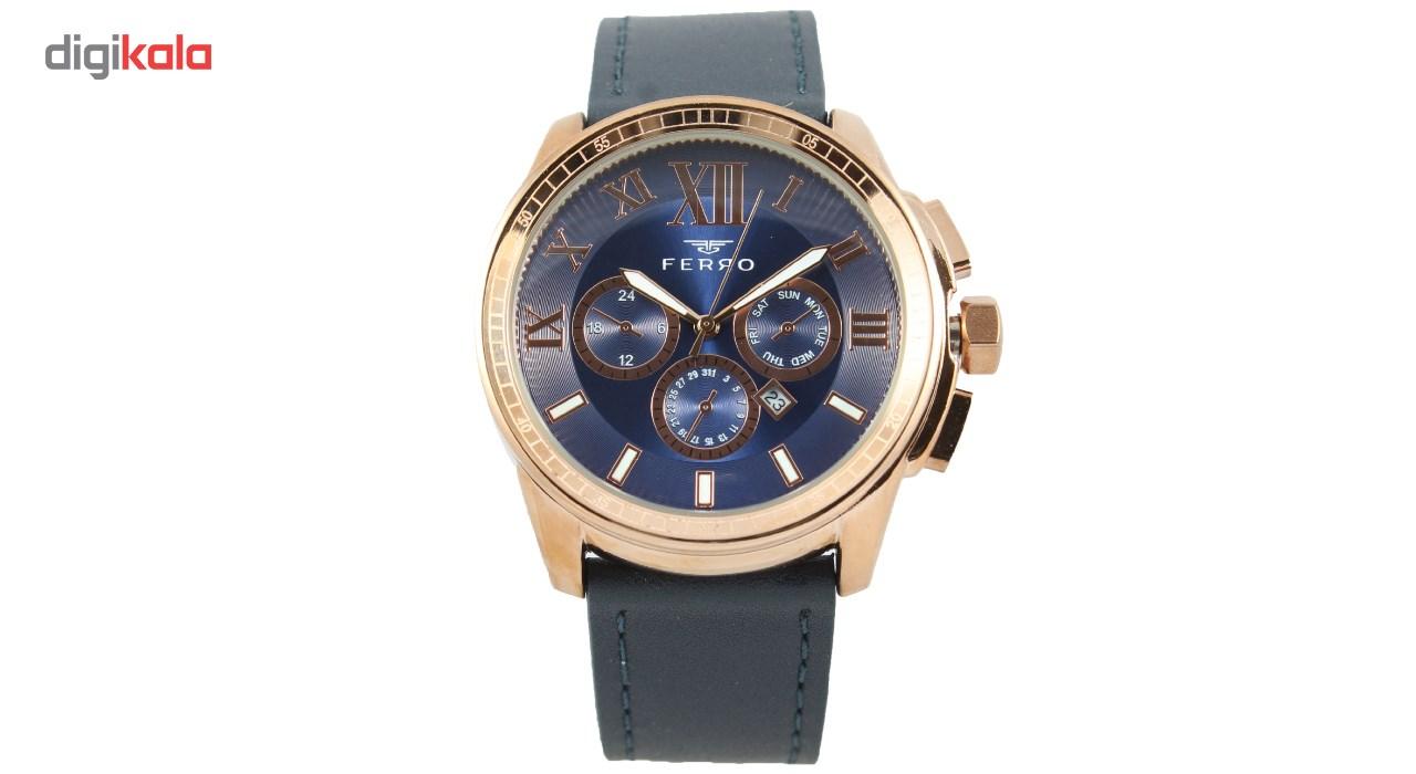 خرید ساعت مچی عقربه ای مردانه فرو مدل F61375-546-C3