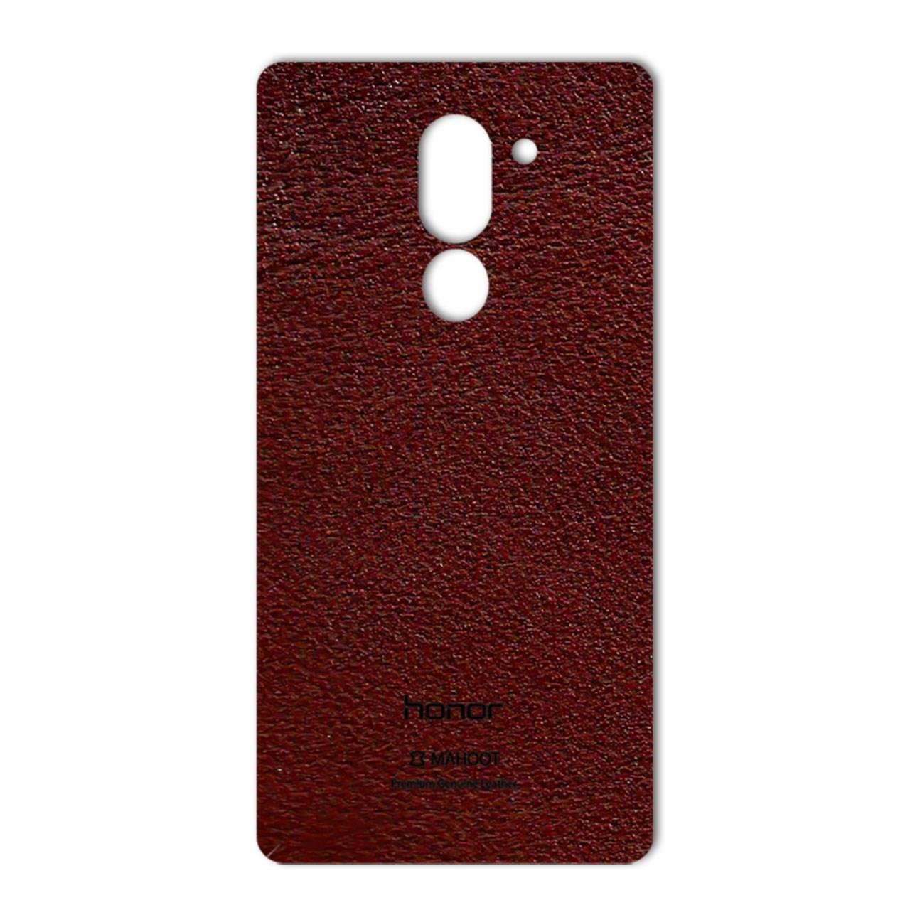برچسب پوششی ماهوت مدلNatural Leather مناسب برای گوشی  Huawei Honor 6X