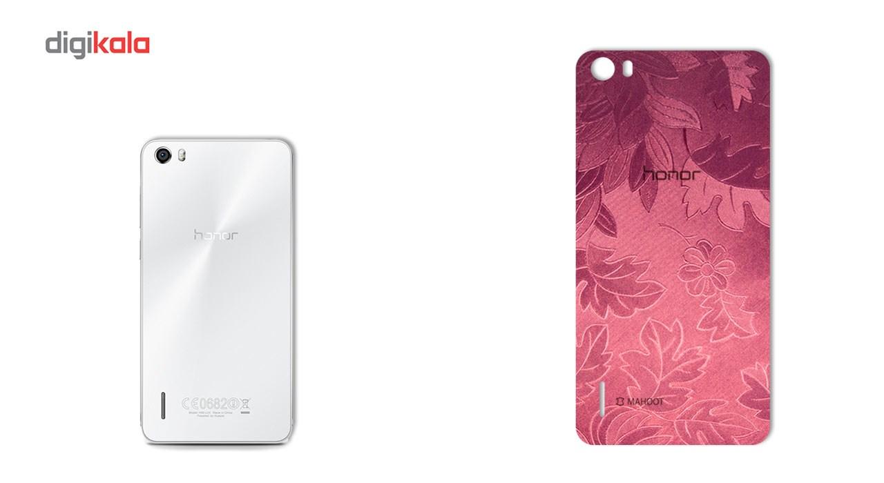 برچسب پوششی ماهوت مدل Wild-flower Texture مناسب برای گوشی  Huawei Honor 6 main 1 2
