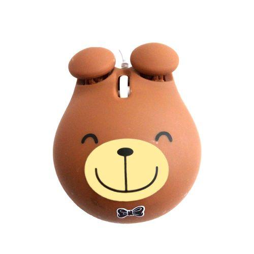 ماوس باسیم عروسکی مدل Bear