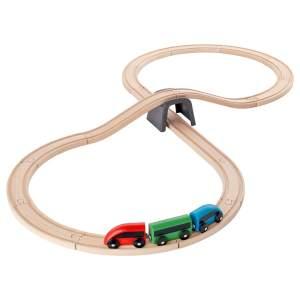 قطار ایکیا مدل LILLABO ست 20 تیکه