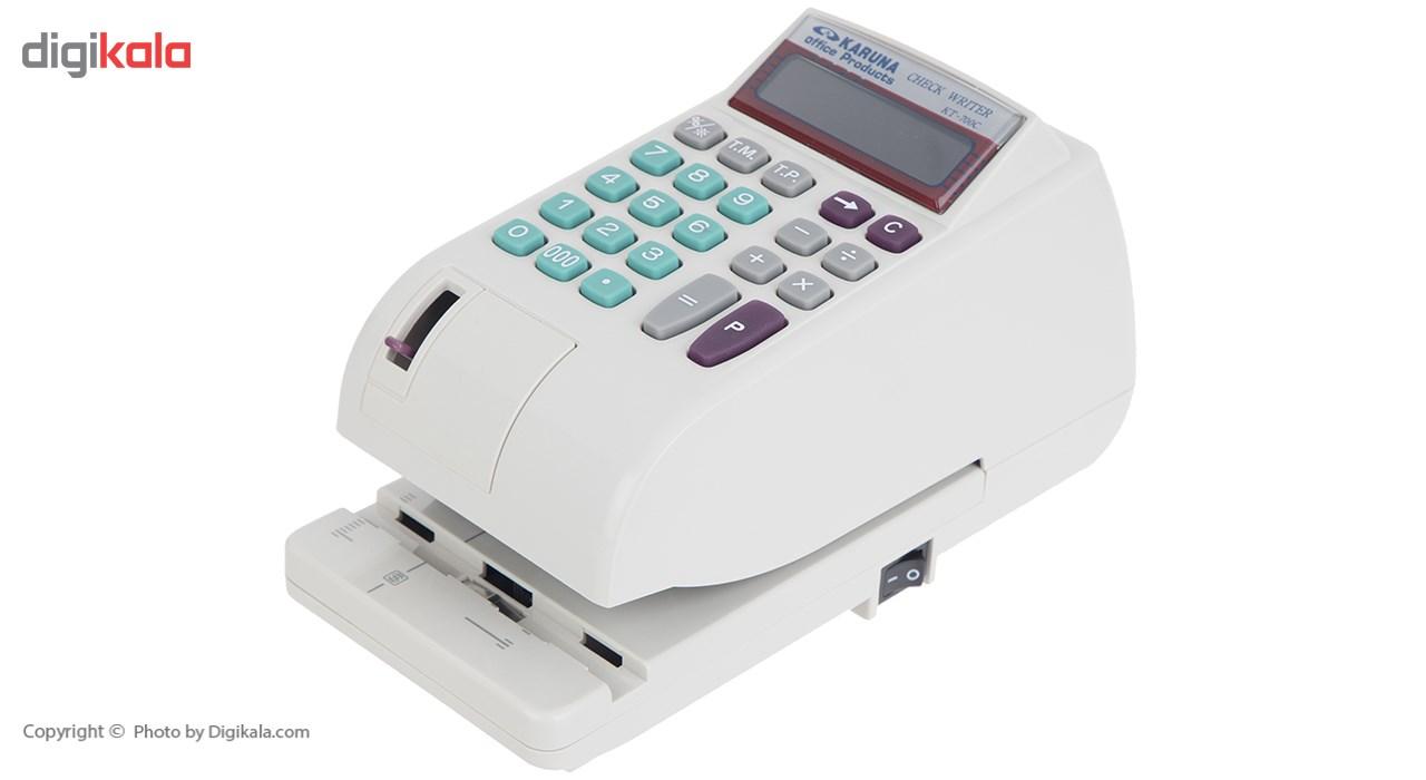 قیمت                      دستگاه پرفراژ چک کارونا مدلKT-700C