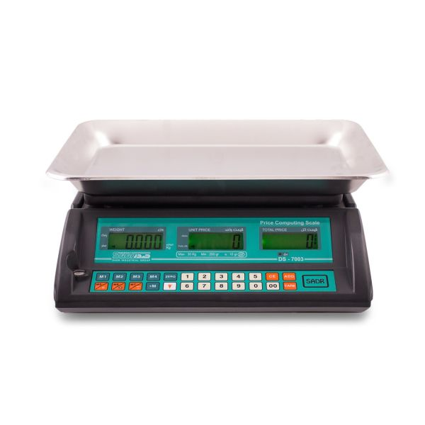 ترازو فروشگاهی توزین صدر مدل 7003 LCD