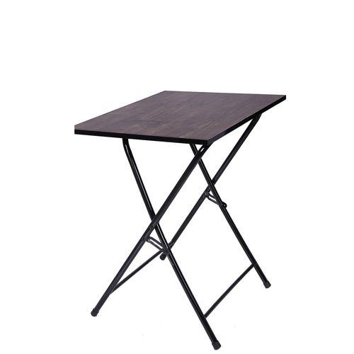 میز تحریر تاشو و تنظیم شو یاس قهو ه ای