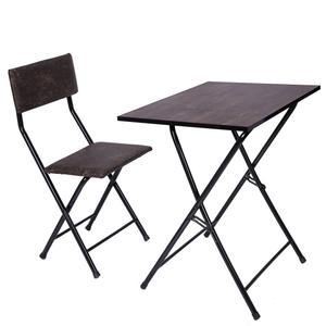 میز و صندلی تحریر تاشو و تنظیم شو سپهر یاس قهوه ای