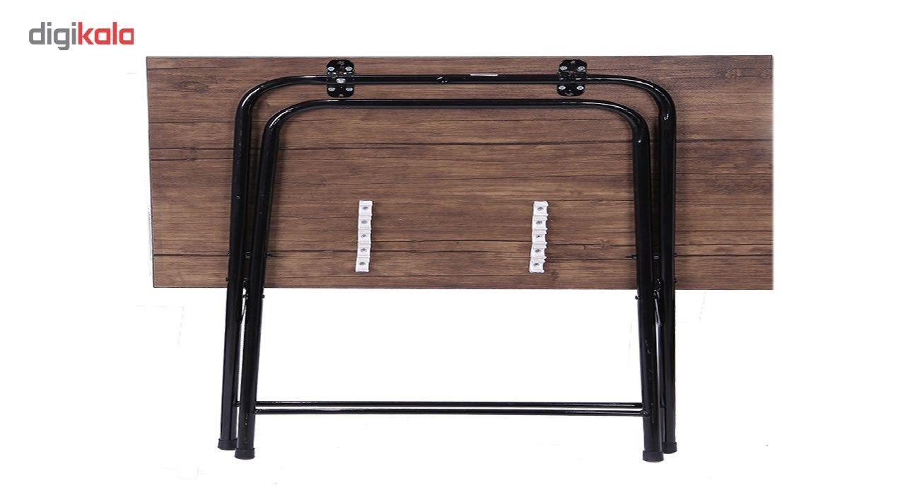 میز و صندلی تحریر تاشو و تنظیم شو سپهر یاس قهوه ای main 1 1