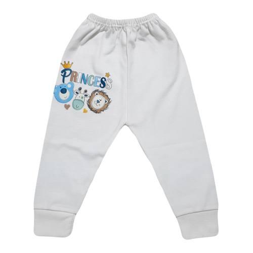 شلوار نوزادی برند پرنسس مدل BLUE-10