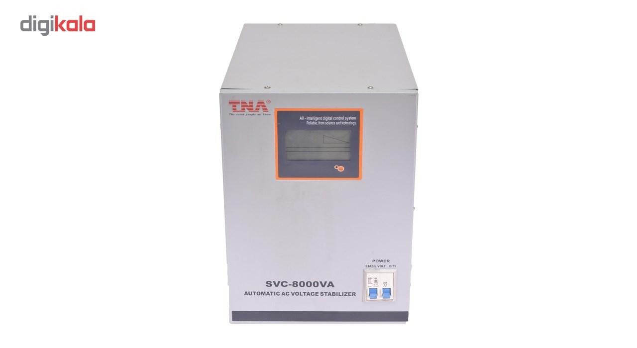 استابلایزر سرووموتوری تی ان ای مدل SVC 8KVA