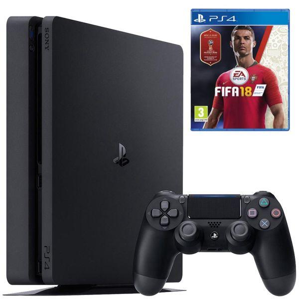 مجموعه کنسول بازی سونی مدل Playstation 4 Slim کد Region 2 CUH-2116B - ظرفیت 1 ترابایت